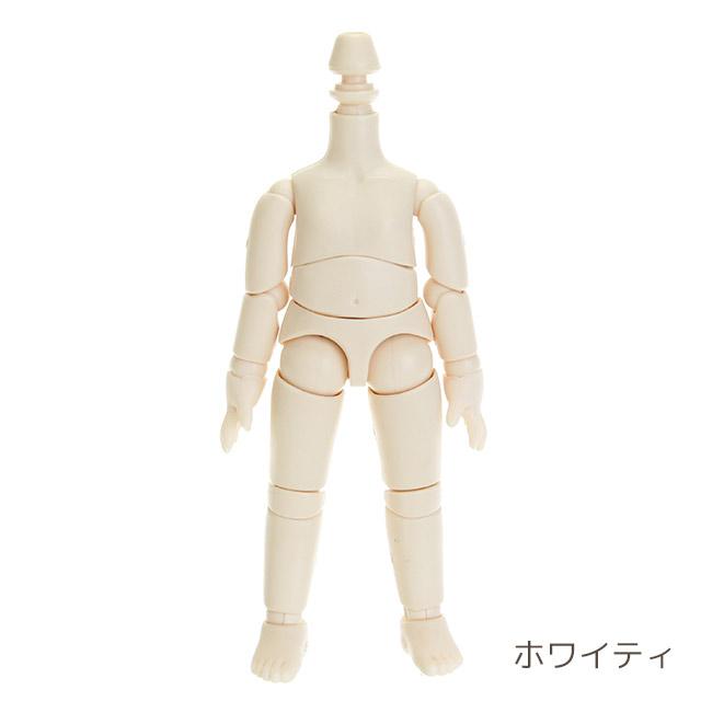 【オビツ】11BD-D01MW 11cmオビツボディ マットスキン ホワイティ