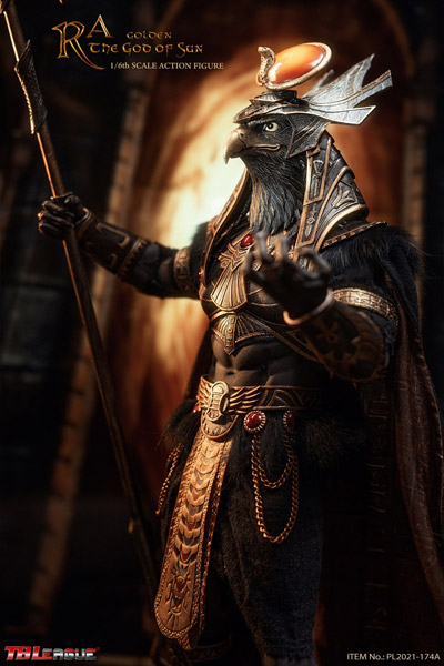 【TBLeague】TBリーグ PL2021-174A Ra the God of Sun- Golden 1/6 Scale Action Figure エジプト神話 太陽神ラー ゴールド