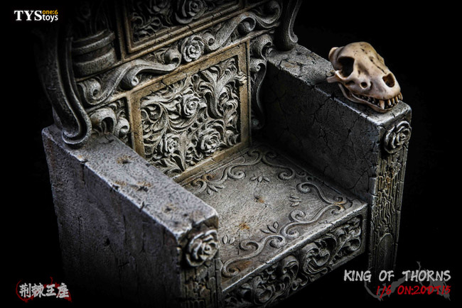 【TYSTOYS】20DT15 1/6 King Of Thorns 棘の玉座 王座 1/6スケール 椅子