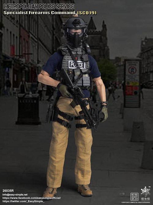 【EASY&SIMPLE】26035R British Specialist Firearms Command SCO19 2019 Version