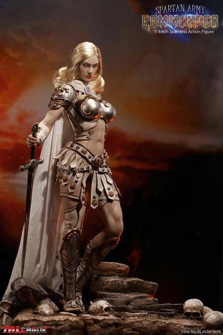 【TBLeague】TBリーグ PL2020-165B 1/6 Spartan Army Commander (Silver Commander) スパルタ女性司令官 女性戦士 シルバー