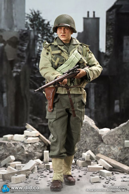 【DID】A80144 WW2 US 2nd Ranger Battalion Series 4 - Private Jackson アメリカ陸軍 第2レンジャー大隊 ジャクソン二等兵