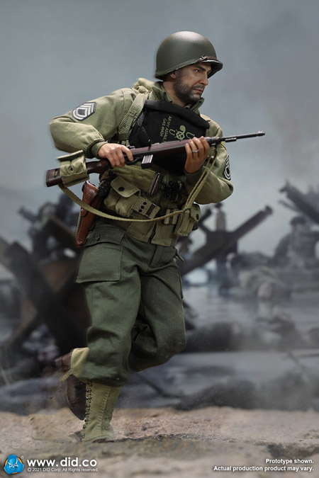 【DID】A80150 WW2 US 2nd Ranger Battalion Series 5 - Sergeant Horvath アメリカ陸軍 第2レンジャー大隊 ホーヴァス軍曹