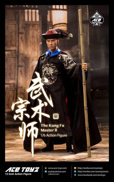 【AceToyz】AT-008 The Kung Fu Master 2 カンフーマスター 1/6スケールフィギュア