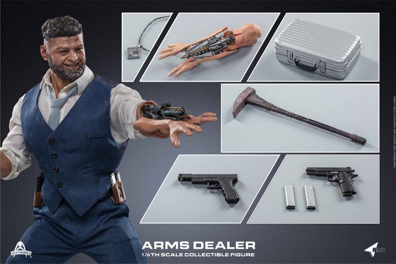 【ARTFIGURES】AI-006 ARMS DEALER 武器密売人 1/6スケールフィギュア