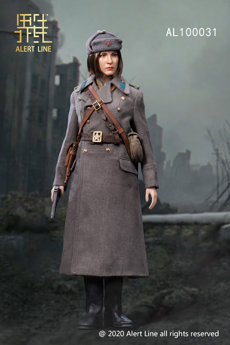 【AlertLine】AL100031 NKVD 1/6 WW2 ソビエト連邦軍 内務人民委員部 女性兵士 1/6スケール女性フィギュア