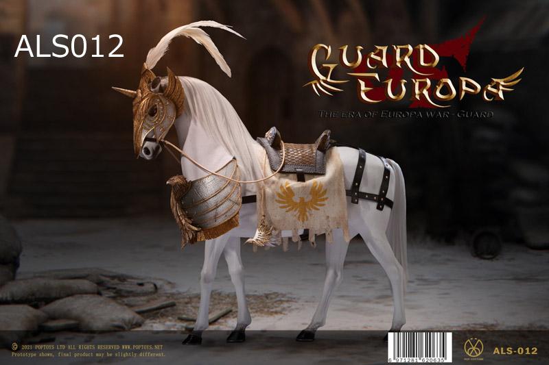 【POPtoys】ALS012 ALS013 1/6 Eagle Knight Guard armor Horse イーグルナイト アーマーホース 騎馬 軍馬 白馬 黒馬