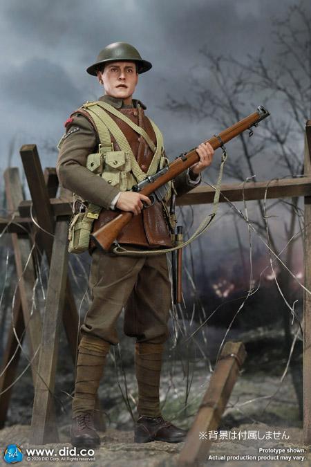 【DID】B11011 WW1 British Infantry Lance Corporal - William 第一次世界大戦 イギリス軍 下級伍長 ウィリアム