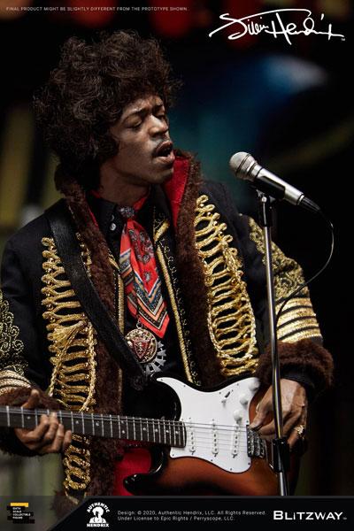 【BLITZWAY】UMS11201 1/6 Jimi Hendrix ジミ・ヘンドリックス 1/6スケールフィギュア