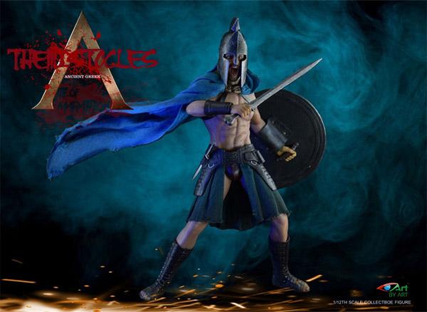 【BY-ART】G02 1/12 Themistocles テミストクレス 1/12スケール シームレス男性ボディフィギュア