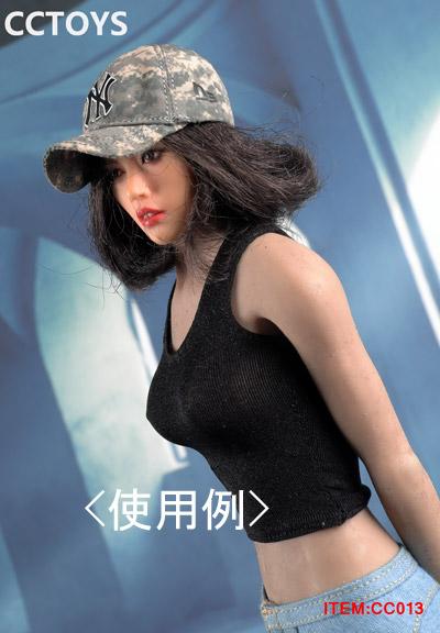 【CCTOYS】CC013 ABCDE 1/6 Leisure Sports Cap ベースボール キャップ 帽子 1/6スケール 女性ドール用コスチューム
