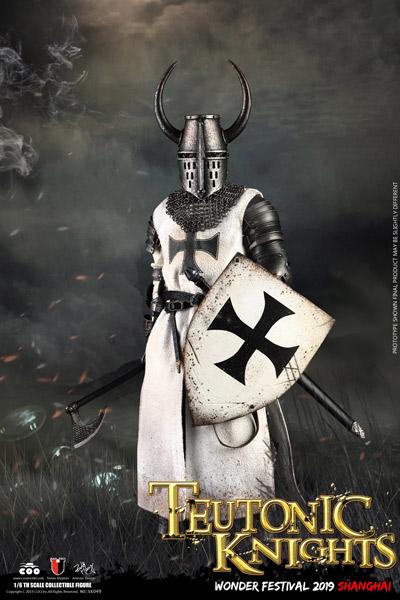 【COO】SE049 WF2019 1/6 THE CRUSADER/TEUTONIC KNIGHT 十字軍戦士 ドイツ騎士団 上海ワンフェス2019版 1/6スケールフィギュア
