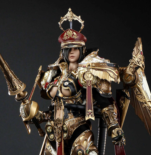 【COREPLAY】CPSP-01 coreplay x 2011 DominanceWAR V WINGS OF TRIAL 原創系列 末世涅槃第一弾 審判之翼 1/6スケール 女性フィギュア