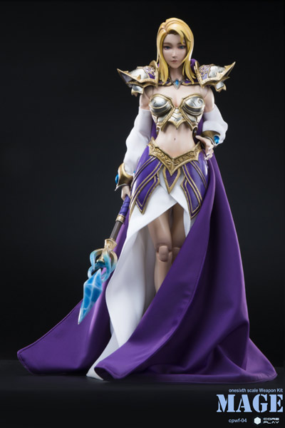 【COREPLAY】CPWF-04 1/6 MAGE Magician Jaina 魔法使い ジェイナ 1/6スケール 女性フィギュア