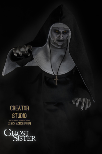 【CreatorStudio】CS-001 1/6 Ghost Sister ゴースト・シスター 幽霊修道女 1/6スケール女性フィギュア