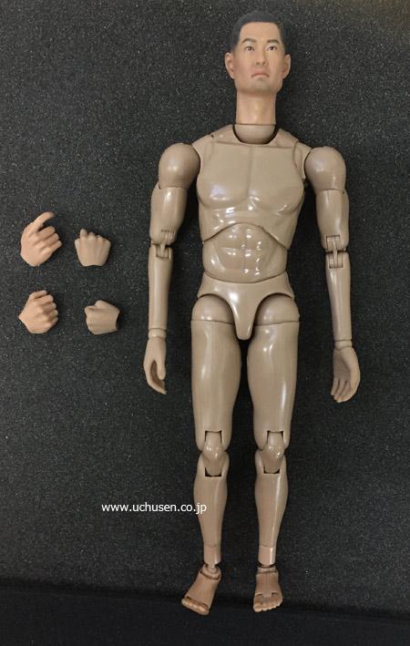 【ToysPower】ルーズパーツ CT010A 大日本帝国陸軍 日本人 東洋人ヘッドつき 1/6スケール男性ボディ素体