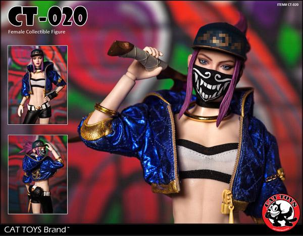 【CATTOYS】CT020 1/6 Female Gamer Collectible Figure 1/6スケール女性フィギュア