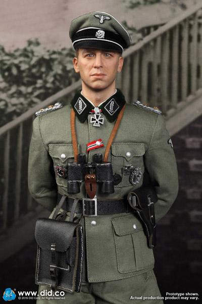 【DID】D80137 WW2 SS Obersturmbannfuhrer Kurt Meyer ドイツ軍 親衛隊中佐 クルト・マイヤー 1/6スケールアクションフィギュア