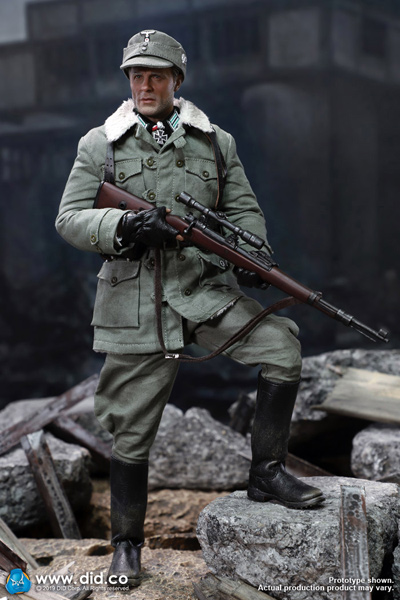 【DID】D80138 WW2 German Battle of Stalingrad 1942 Major Erwin König 10th Anniversary ドイツ軍 狙撃兵 ケーニッヒ少佐