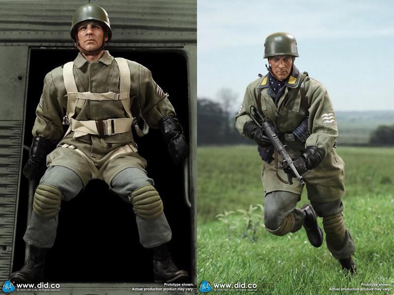 【DID】D80146 WW2 German Fallschirmjager - Schmeling ドイツ軍 降下猟兵 マックス・シュメリング 1/6スケールアクションフィギュア
