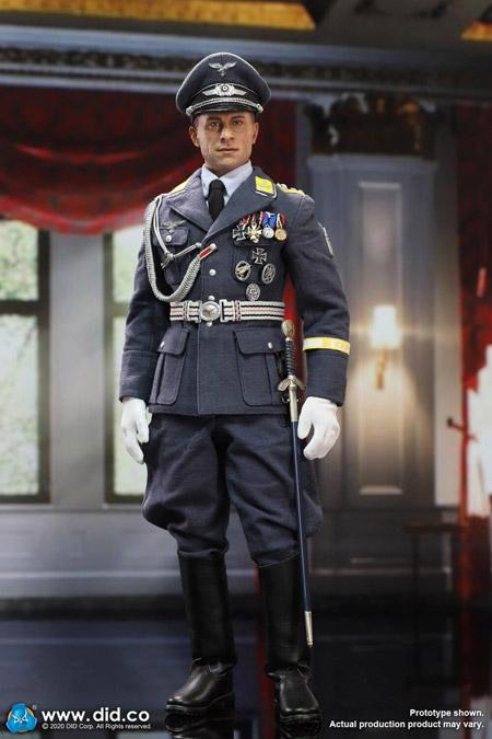 【DID】D80147 WW2 German Luftwaffe Captain - Willi ドイツ空軍 大尉 ヴィリー 1/6スケールアクションフィギュア