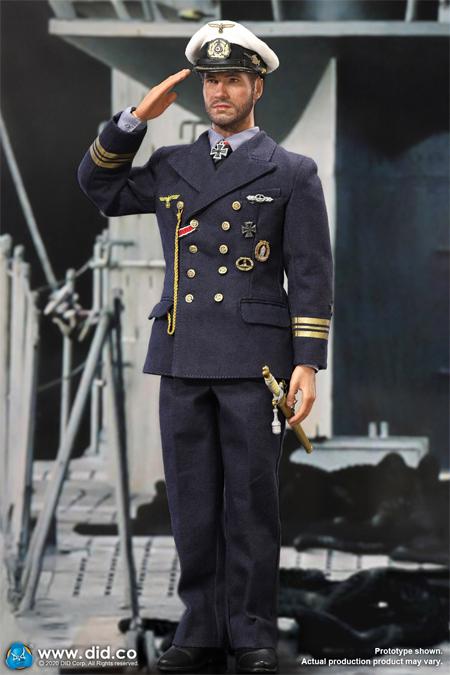 【DID】D80148 WW2 German U-Boat Commander - Lehmann ドイツ軍 Uボート 潜水艦 艦長 レーマン 1/6スケールアクションフィギュア