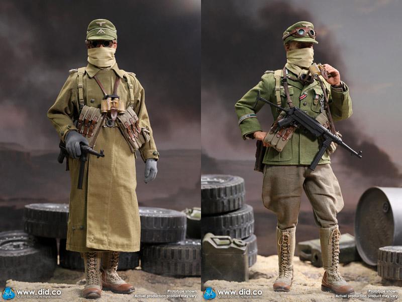 【DID】D80151 WW2 German Afrika Korps Infantry Captain - Wilhelm