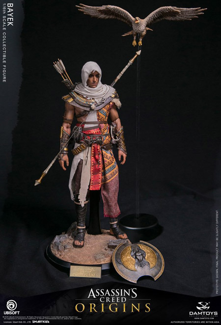 【DAM】DMS013 Assassin's Creed Origins 1/6th scale Bayek Collectible Figure アサシン クリード オリジンズ シワのバエク