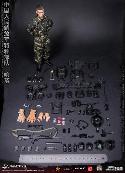 【DAM】No.78048 1/6 XIANGJIAN 中国人民解放軍 特殊部隊 狙撃兵 1/6フィギュア