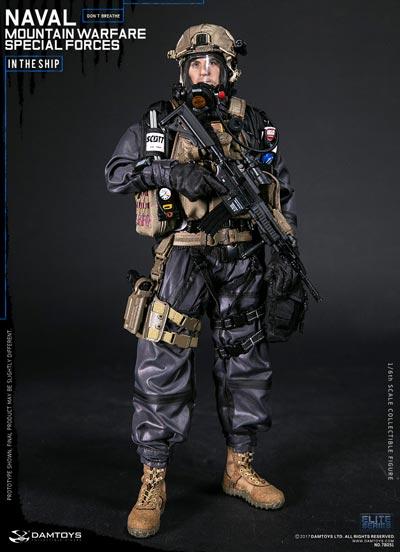 【DAM】No.78051 1/6 NAVAL MOUNTAIN WARFARE SPECIAL FORCE アメリカ海軍 マウンテン ウォーフェア スペシャルフォース 1/6フィギュア