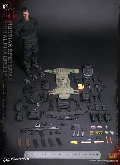 【DAM】No.78064 1/6 RUSSIAN SPETSNAZ FSB ALPHA GROUP スペツナズ ロシア連邦保安庁特殊任務部隊 アルファグループ