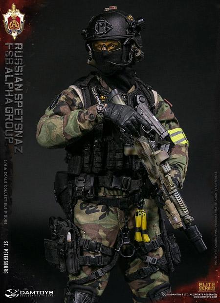【DAM】No.78071 1/6 RUSSIAN SPETSNAZ FSB ALPHA GROUP St.Petersburg CLASSIC VERSION スペツナズ