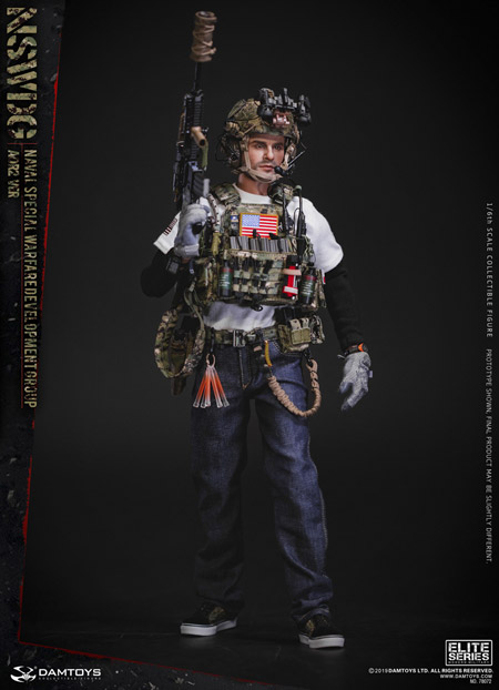 【DAM】No.78072 1/6 NSWDG NAVAL SPECIAL WARFARE DEVELOPMENT GROUP - AOR2 VER アメリカ海軍特殊戦開発グループ DEVGR