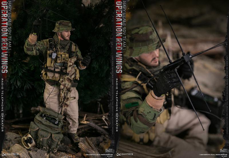 【DAM】No.78081 1/6 Operation Red Wings NAVY SEALS SDV TEAM 1 Radio Telephone Operator