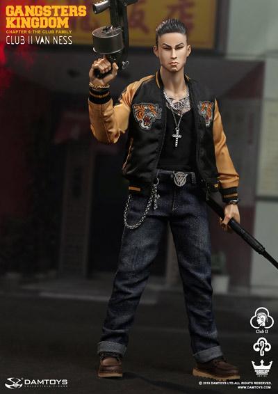 【DAM】GK017 Gangsters Kingdom Club2 Van Ness ヴァネス 1/6スケールフィギュア
