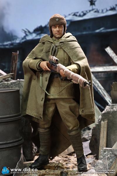 【DID】R80139 WW2 Russian Sniper-Vasily Zaytsev ソ連軍 狙撃兵 ヴァシリ・ザイツェフ