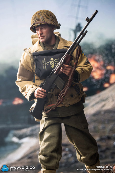 【DID】A80141 WW2 US 2nd Ranger Battalion Series 2 - Private First Class Reiben アメリカ陸軍 第2レンジャー大隊 ライベン一等兵