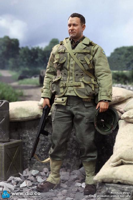 【DID】A80145 WW2 US 2nd Ranger Battalion Series 3 - Captain Miller アメリカ陸軍 第2レンジャー大隊 ミラー大尉