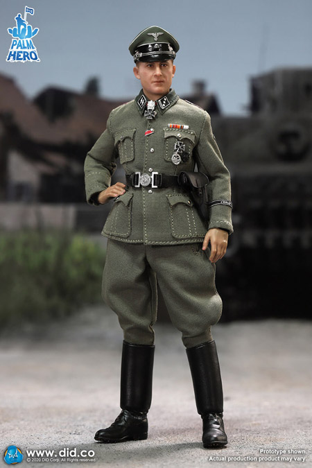 【DID】XD80004 1/12 WW2 German SS Hauptsturmführer - Michael Wittmann ドイツ軍 ミハエル・ヴィットマン 親衛隊大尉 戦車兵