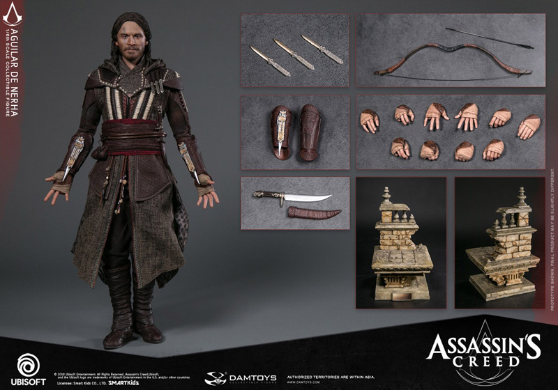 【DAM】DMS006 Assassin's Creed 1/6th scale Aguilar Collectible Figure アサシンクリード アギラール・デ・ネルハ