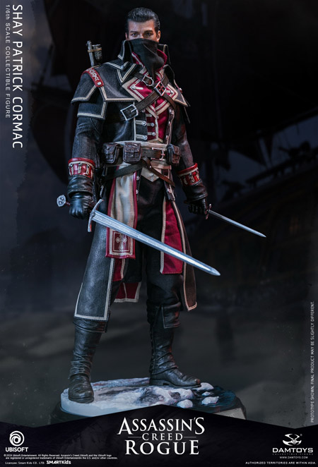 【DAM】DMS011 Assassin's Creed Rogue Shay Patrick Cormac アサシン クリード ローグ シェイ・パトリック・コーマック