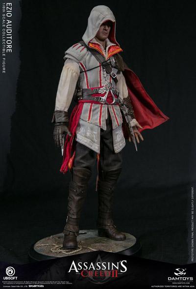 【DAM】DMS012 Assassin's Creed II 1/6th scale Ezio Collectible Figure アサシンクリード2 エツィオ・アウディトーレ