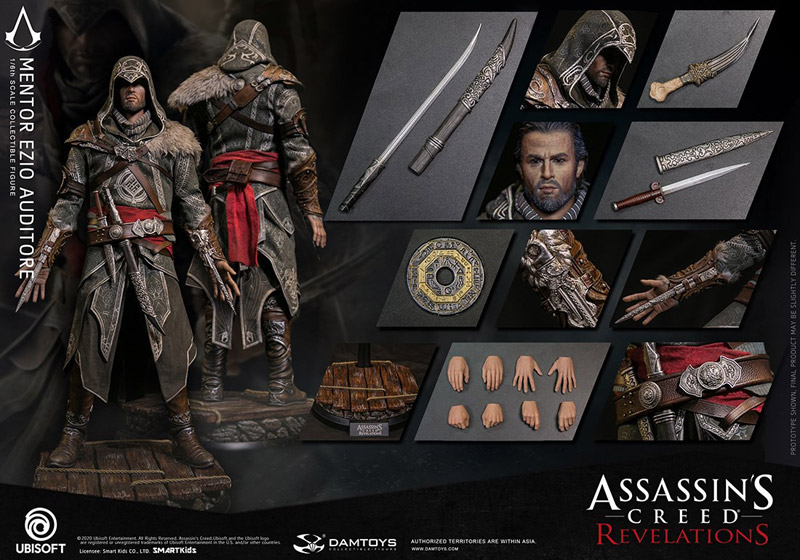 【DAM】DMS014 Assassin's Creed Revelations-1/6th scale Mentor Ezio Auditore Collectible Figure