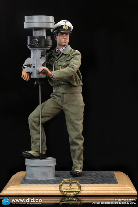 【DID】E60058&D80148set WW2 German U-Boat Commander - Lehmann &Periscope Diorama