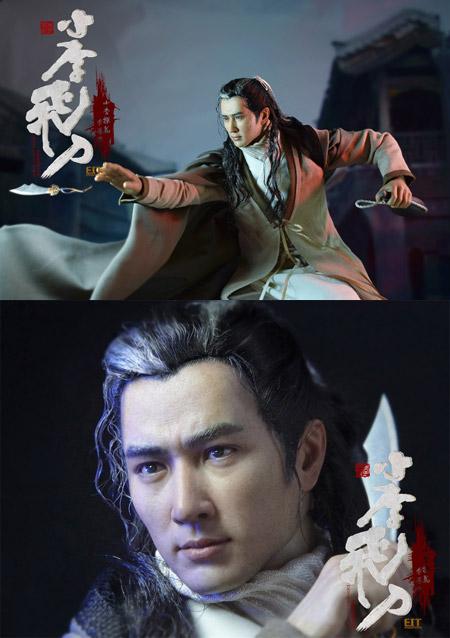 【End I Toys】EIT011 小李飛刀 武芸の達人 1/6スケール 男性フィギュア