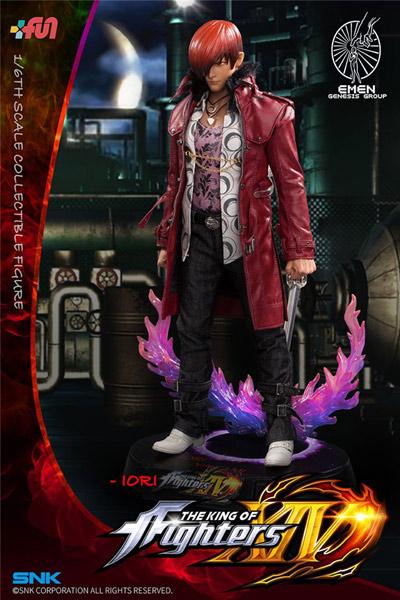 【EMEN】KOF14 1/6 The King Of Fighters XIV Iori Yagami 拳皇 ザ・キング・オブ・ファイターズ 八神庵 1/6スケール 男性フィギュア