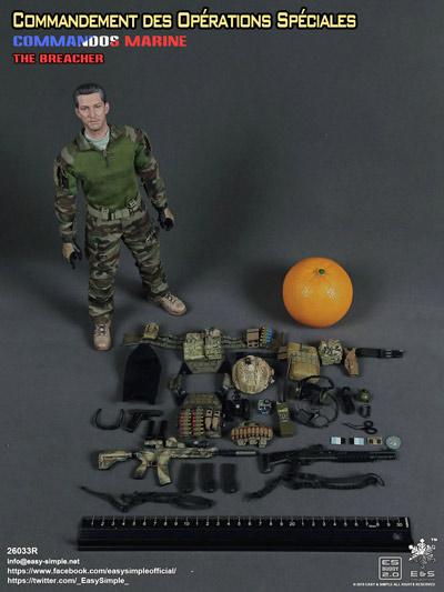 【EASY&SIMPLE】26033R COS Prt II-The Breacher フランス軍 特殊作戦司令部 ブリーチャー 1/6スケールフィギュア