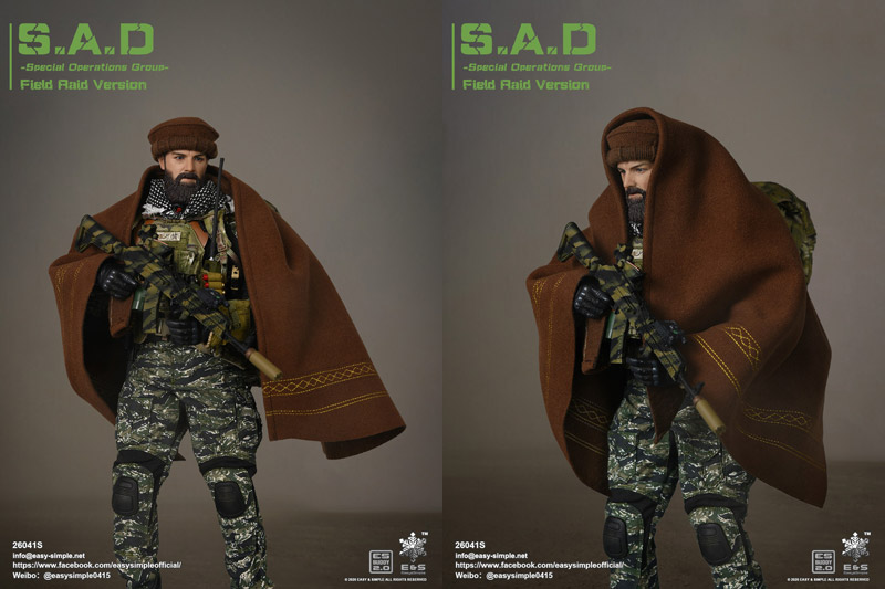 【EASY&SIMPLE】26041S S.A.D Special Operation Group Field Raid Version (Exclusive Woodland Version)