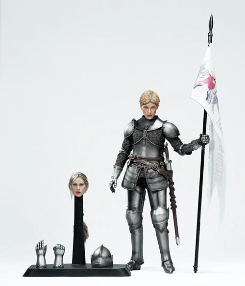 【POPtoys】EX019A 1/6 Saint Knight Charge version 聖騎士 聖女 ジャンヌ・ダルク 突撃版 1/6スケール女性フィギュア