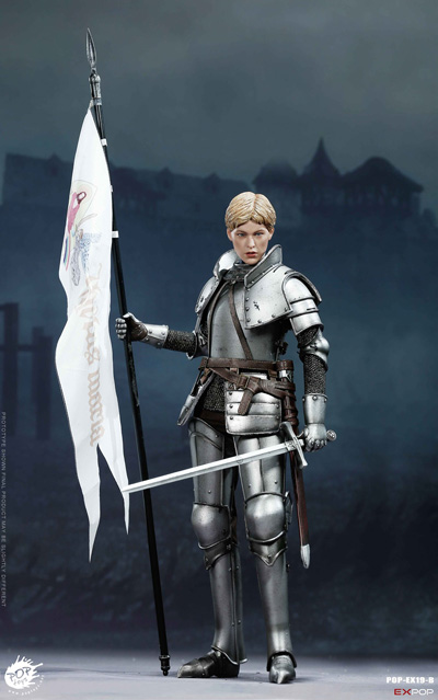【POPtoys】EX019B 1/6 Saint Knight Triumph version 聖騎士 聖女 ジャンヌ・ダルク 勝利版 1/6スケール女性フィギュア